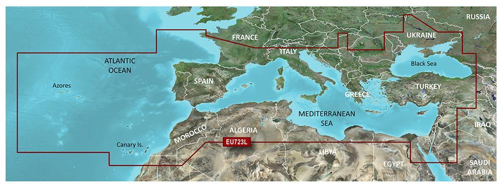 Large EU723L Mittelmeer   Markenkompatibilität Garmin   FNI5602207