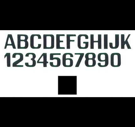 International Letterfix-PCG_FN59590020-LETTERE E NUMERI NERE MM.200-20