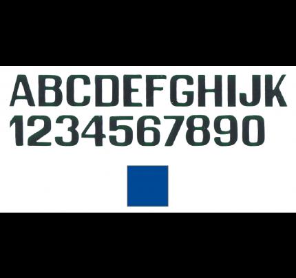 International Letterfix-PCG_FN59590160-LETTERE E NUMERI AZZURRE MM.150-20