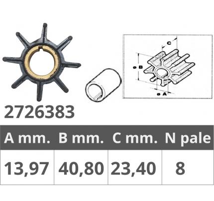 Finnord-FNI2726383-GIRANTE TOHATSU 2/4T 9,9-15-18 HP-20