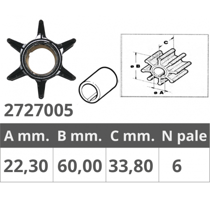 Finnord-FNI2727005-GIRANTE MARINER/MERCRUISER/MERCURY-20