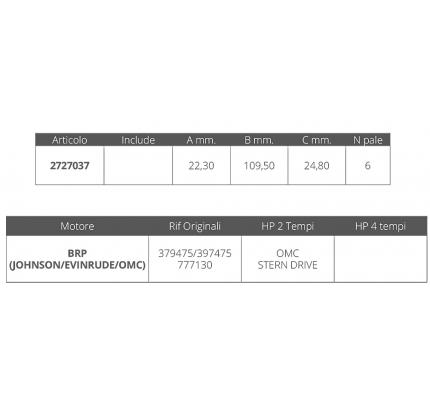 Finnord-FNI2727037-GIRANTE JOHNSON/EV. STERN DRIVE-20