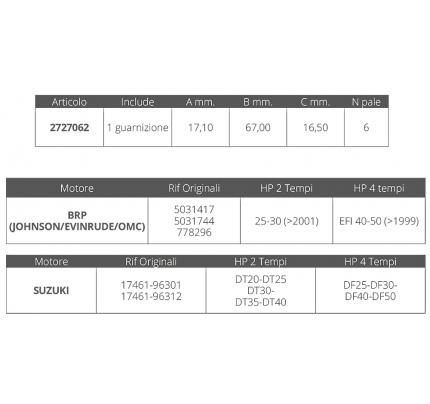 Finnord-FNI2727062-GIR.SUZUKI 2/4T DT20-40 DF 25-50-20