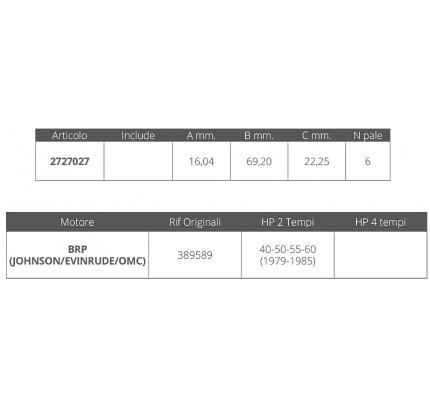 Finnord-FNI2727027-GIRANTE JOHNSON/EV.2T 40-50-55-60HP-20