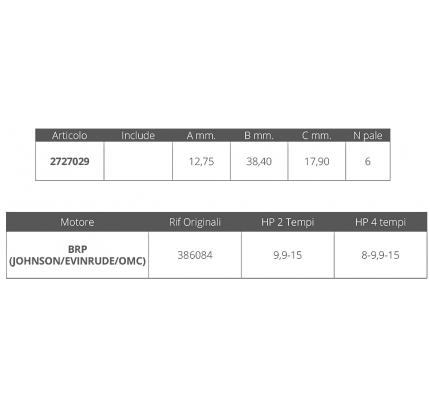 Finnord-FNI2727029-GIR. JOHONSON/EV. 2/4T 8-9,9-15 HP-20