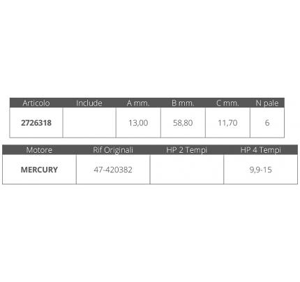 Finnord-FNI2726318-GIRANTE MERCURY 4T 9,9-15 HP-20