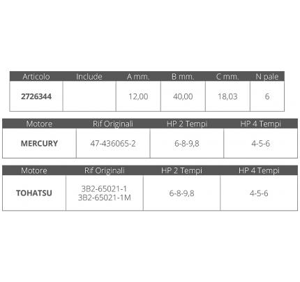 Finnord-FNI2726344-GIRANTE TOHATSU 2/4T-20