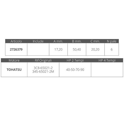 Finnord-FNI2726379-GIRANTE TOHATSU 2T 40-50 HP-20