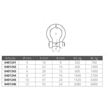 Wichard-FNI0401241-GRILLO A CETRA MM 4-20