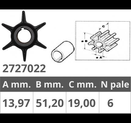 Finnord-FNI2727022-GIRANTE YAMAHA 2T 20-25 HP-20