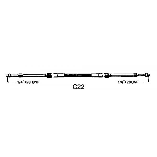 Ultraflex-FNI4202216-CAVO C22 DA 16-30